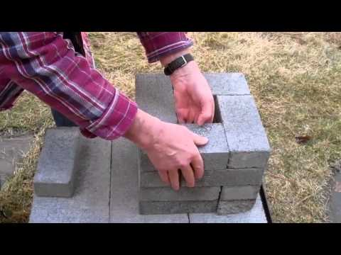 How to make a brick rocket stove for $6.08