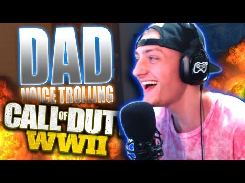 DEEP VOICE DAD vs SON on WW2! Voice Changer Funny Moments!