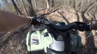 8. Can-am Outlander L 570 DPS   Trail Ride