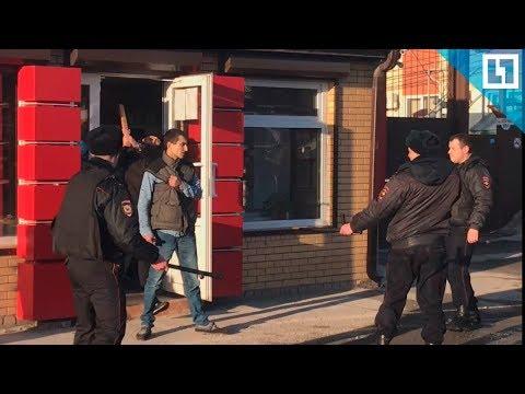 Псих взял в заложники человека в Ростове