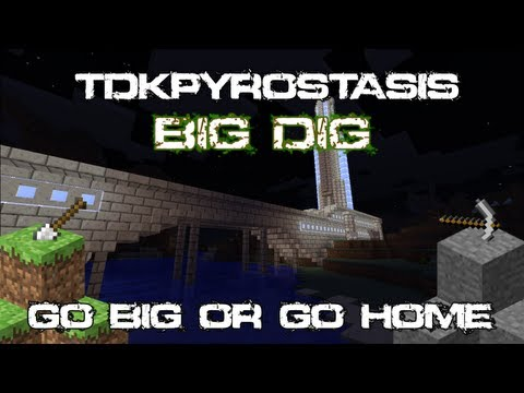 Minecraft Big Dig : Powering The Silo Ep 4