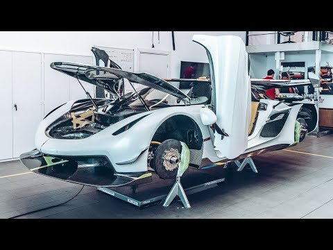 How to build a 300mph Koenigsegg Jesko | Top Gear