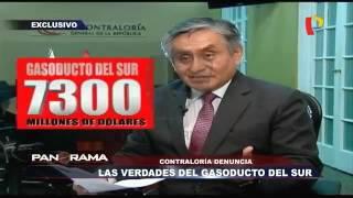 Contraloría alerta sobre irregularidades en Gasoducto del Sur – Panorama – 03.07.16