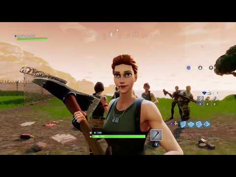 FortNite Battle Royal - The Faces :D