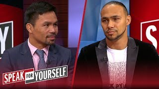 Video Keith Thurman doubles down on saying he's going to retire Manny Pacquiao | SPEAK FOR YOURSELF MP3, 3GP, MP4, WEBM, AVI, FLV Juni 2019