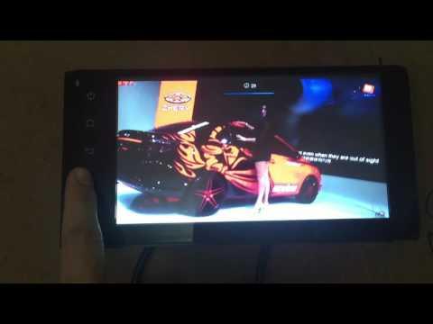 Màn hình DVD toyota FUJITSU android