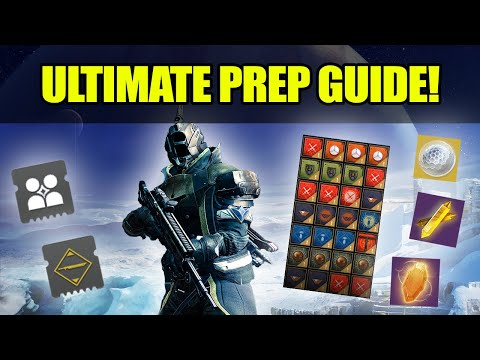 The ULTIMATE Beyond Light PREP GUIDE! - Get Ahead Now! (Destiny 2)