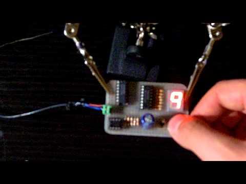 DIGITAL COUNTER automatic / manual 7447, 7490