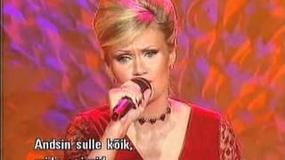 Airi Ojamets - I Wanna Stay (Eesti NF 2004)