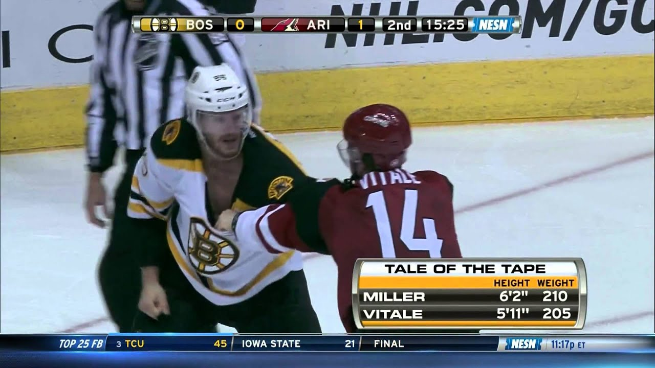 Kevan Miller is not to be trifled with.