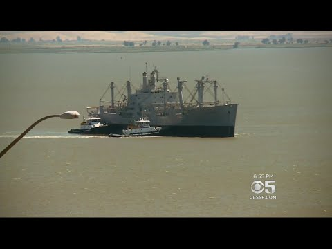 Mothball Fleet Cargo Ship Makes Final Voyage