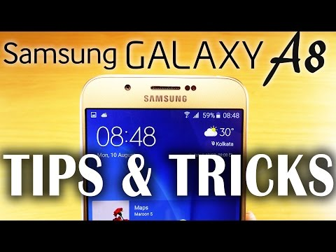BEST Samsung GALAXY A8 TIPS & TRICKS, Hidden Features!