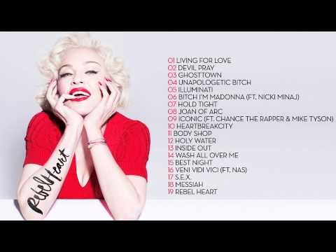 Madonna - 'Rebel Heart' Deluxe Album Sampler