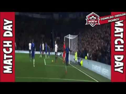 Chelsea vs Tottenham Victor Moses amasing Goal Goal 2016 2 1
