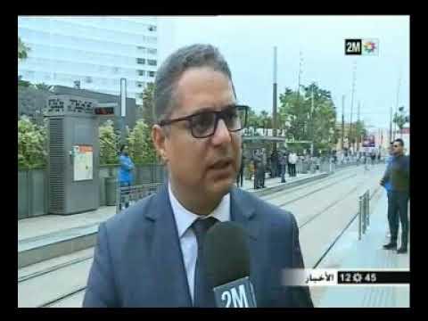 Mesures sanitaires dans les tramways et les bus à Casablanca