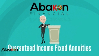 Abakon Financial Introduction to Guaranteed Income Annuities
