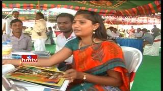 Peram's Aditya White Field Lay Foundation Stone Program in Vizag | HMTV