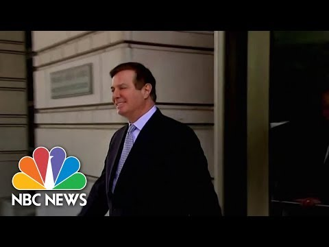 Paul Manafort Pleads Guilty In Deal With Federal Prosecutors | NBC News