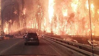 Fort McMurray (AB) Canada  city photos : Massive #Wildfire Evacuates City of 80000 in Fort McMurray #Alberta, #Canada