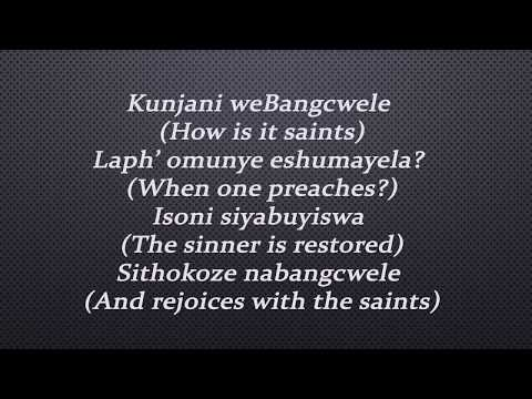 Joyous Celebration - Umoya Kulwendawo (lyrics)