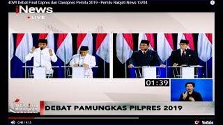 Video Tak Nyambung, Jokowi Kecewa Jawaban Prabowo soal Mobile Legends - Pemilu Rakyat 13/04 MP3, 3GP, MP4, WEBM, AVI, FLV April 2019