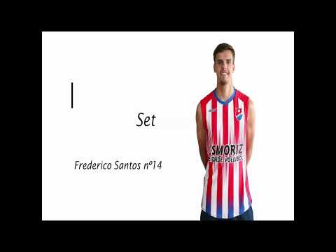Frederico Santos - Setter - Volleyball Highlights ...