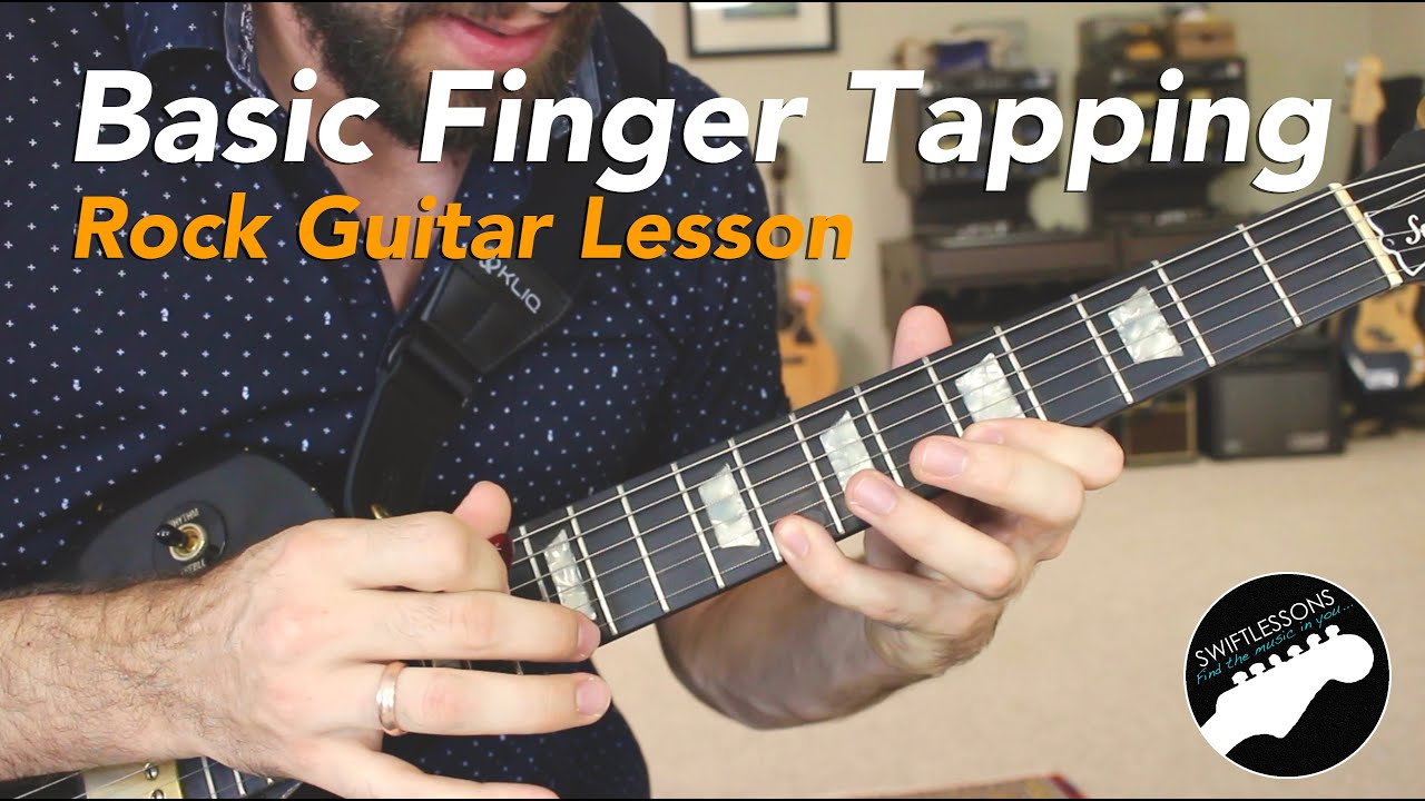 Beginner Finger Tapping Rock Guitar Lesson