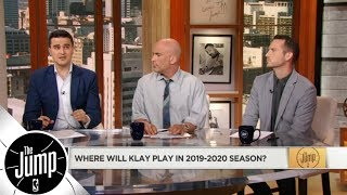 Where will Kevin Durant and Klay Thompson play in 2019/20? | The Jump | ESPN