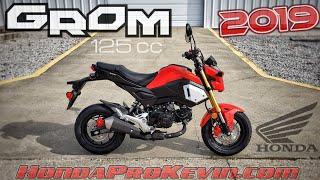 8. 2019 Honda Grom 125 Walk-around 'Cherry Red' | Mini Bike / Motorcycle (miniMOTO / MSX125)