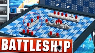 SINKING TEWTIY'S BATTLESHIPS (BOARD GAME SUNDAY) - BATTLESHIP BOARD GAME