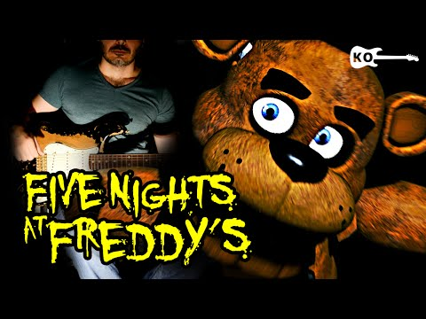 Five Nights at Freddy's 1 Song - Electric Guitar Cover by Kfir Ochaion