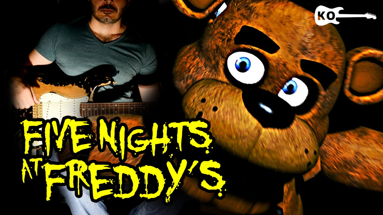 Five Nights at Freddy's 1 Song – Electric Guitar Cover by Kfir Ochaion