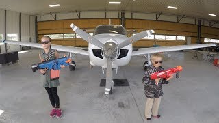 Video Nerf War: Airplane Rescue MP3, 3GP, MP4, WEBM, AVI, FLV November 2018