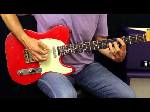 Learn Blues Soloing – Guitar Lesson – Mixing Major and Minor Pentatonic Scales