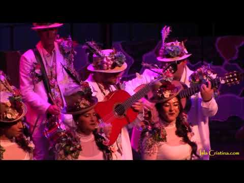 Comparsa «La Flor de la Vida». Carnaval de Isla Cristina 2018