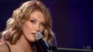 Delta Goodrem - Born To Try @ Allan Border Medal 2003