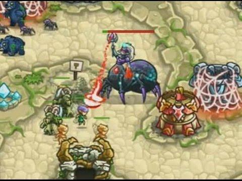 Kingdom Rush Origins - Shrine of Elynie - 3 Stars NLL - Final Battle Walkthrough