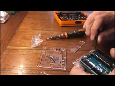 Banggood - Transparent Acrylic Shell Box For Arduino UNO R3 Module Board