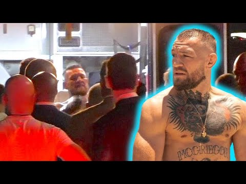 Conor McGregor Rushed To Hospital After Snapping Leg In Loss To Dustin Poirier