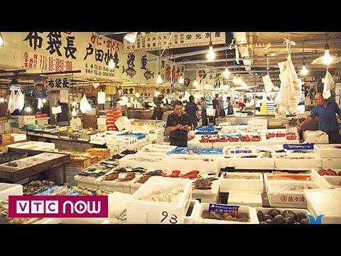 Chợ cá lớn nhất thế giới họp chợ địa điểm mới - Thời lượng: 94 giây.