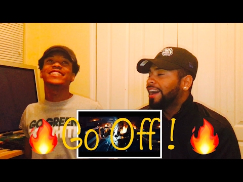 Lil Uzi Vert, Quavo & Travis Scott - Go Off (from The Fate of the Furious) REACTION ((FVO))