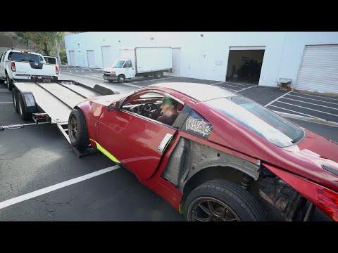 2JZ 350Z First Drive! *with a shoelace*_Legjobb videók: Autó