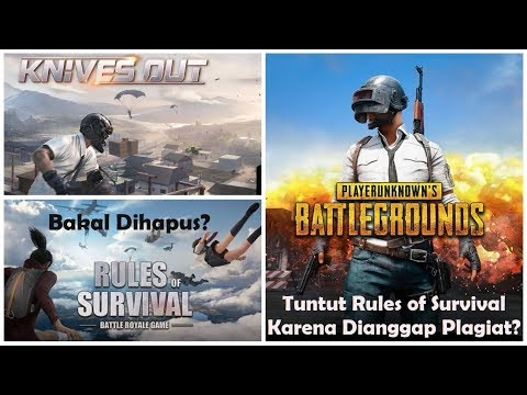 PUBG Tuntut Rules Of Survival, Survival Royale, & Knives Out (NetEase) Karena Dianggap Plagiat!