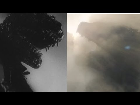 Godzilla 2014 Trailer With 1954 Gojira Footage