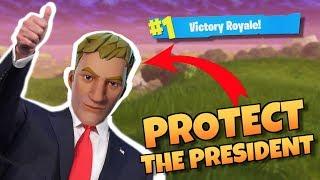 Video Protect the President - Fortnite Battle Royale MP3, 3GP, MP4, WEBM, AVI, FLV Juni 2019