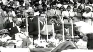 His Imperial Majesty, Emperor Haile Selassie Of Ethiopia Visits Jamaica Part 1