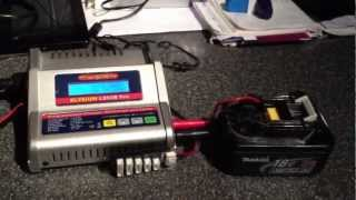 how to charge a broken makita BL1830 Li-ion battery