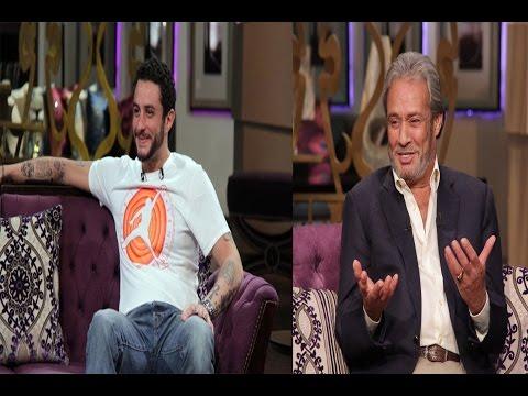 شاهد- فاروق الفيشاوي يرد على مقلب قام به مع ابنه أحمد الفيشاوي