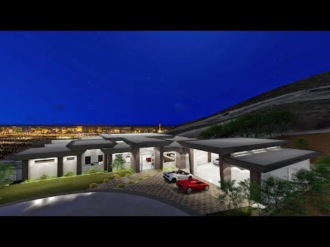 Rocket | New Modern Single Story with Strip Views & 8 Car Garage