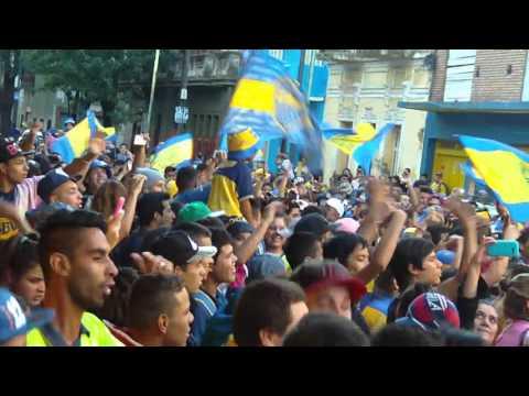 hinchada de Boca Juniors Cumple Años 03/04/2016 parte 2 - La 12 - Boca Juniors